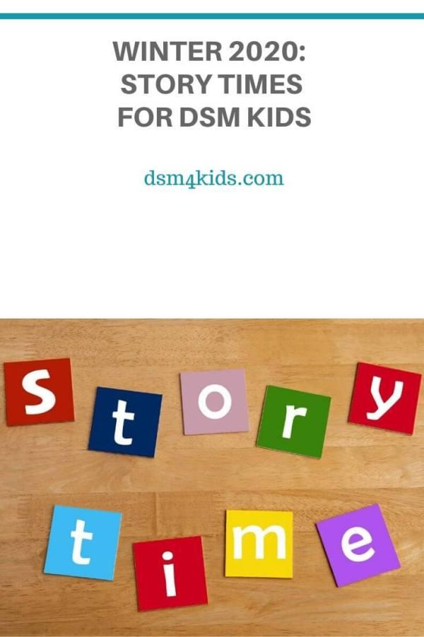 Winter 2020:  Story Times for DSM Kids – dsm4kids.com