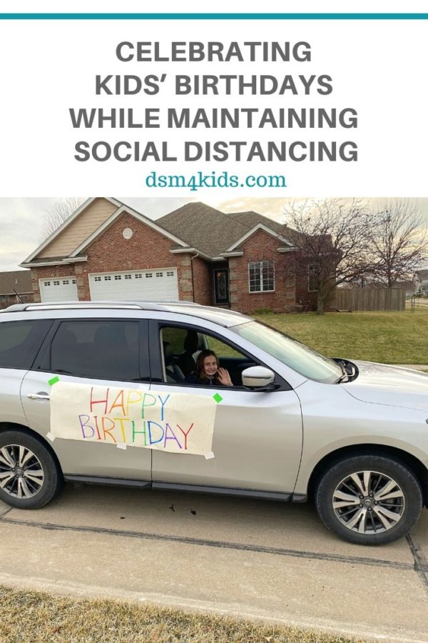 Celebrating Kids' Birthday While Maintaining Social Distancing – dsm4kids.com