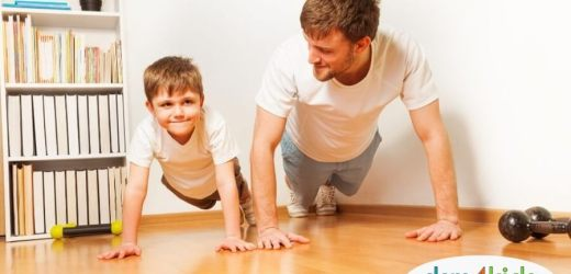 Fun Virtual Workouts to Keep the Family Fit While Stuck at Home