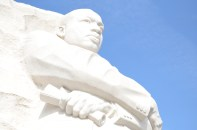 Front of Dr. King Memorial Statue