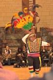 "A Bolivian dancer performs the ""ostrich dance."""