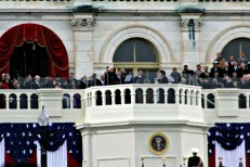 Joe Biden is sworn in as Vice President of the United States.