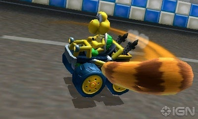 Mario Kart 7: Arm yourself with a Tanooki Tail