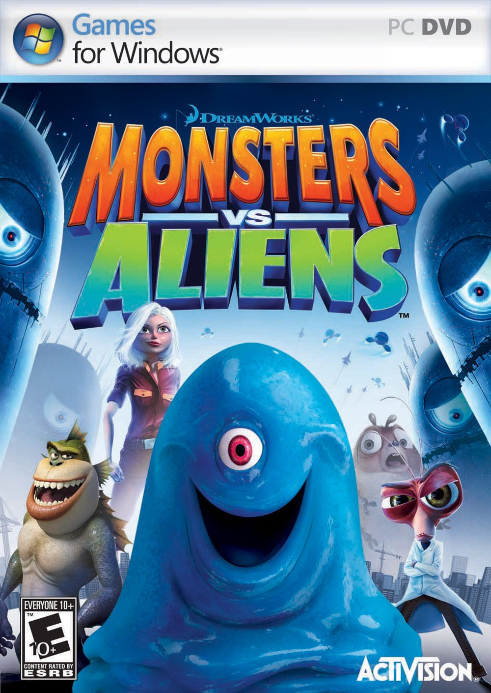 Monsters Vs Aliens Play Ds Games