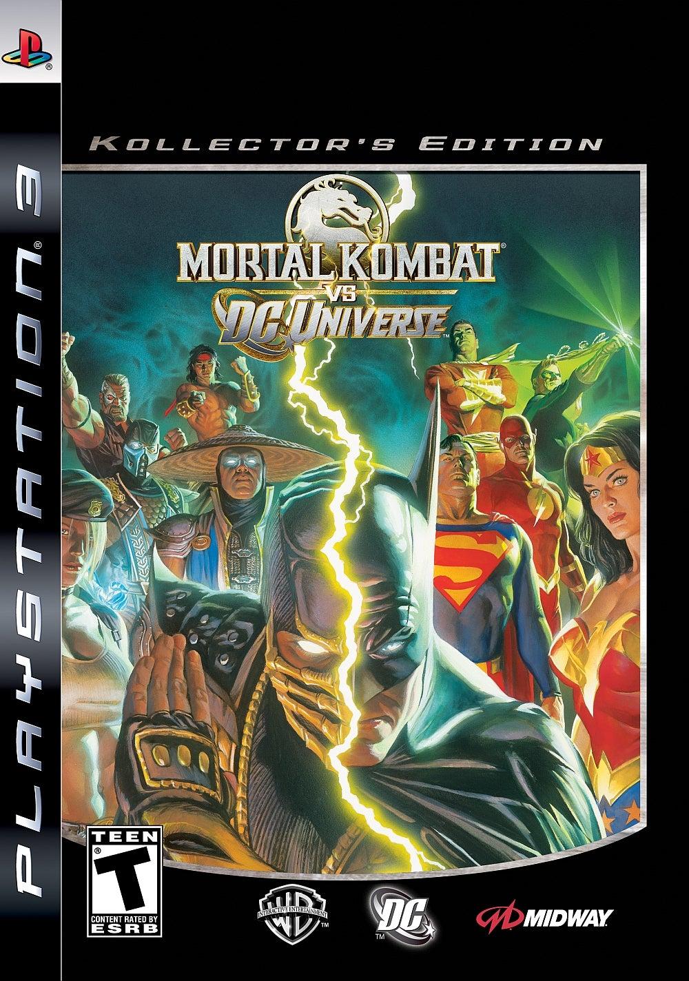 Mortal Kombat Vs DC Universe Kollectors Edition