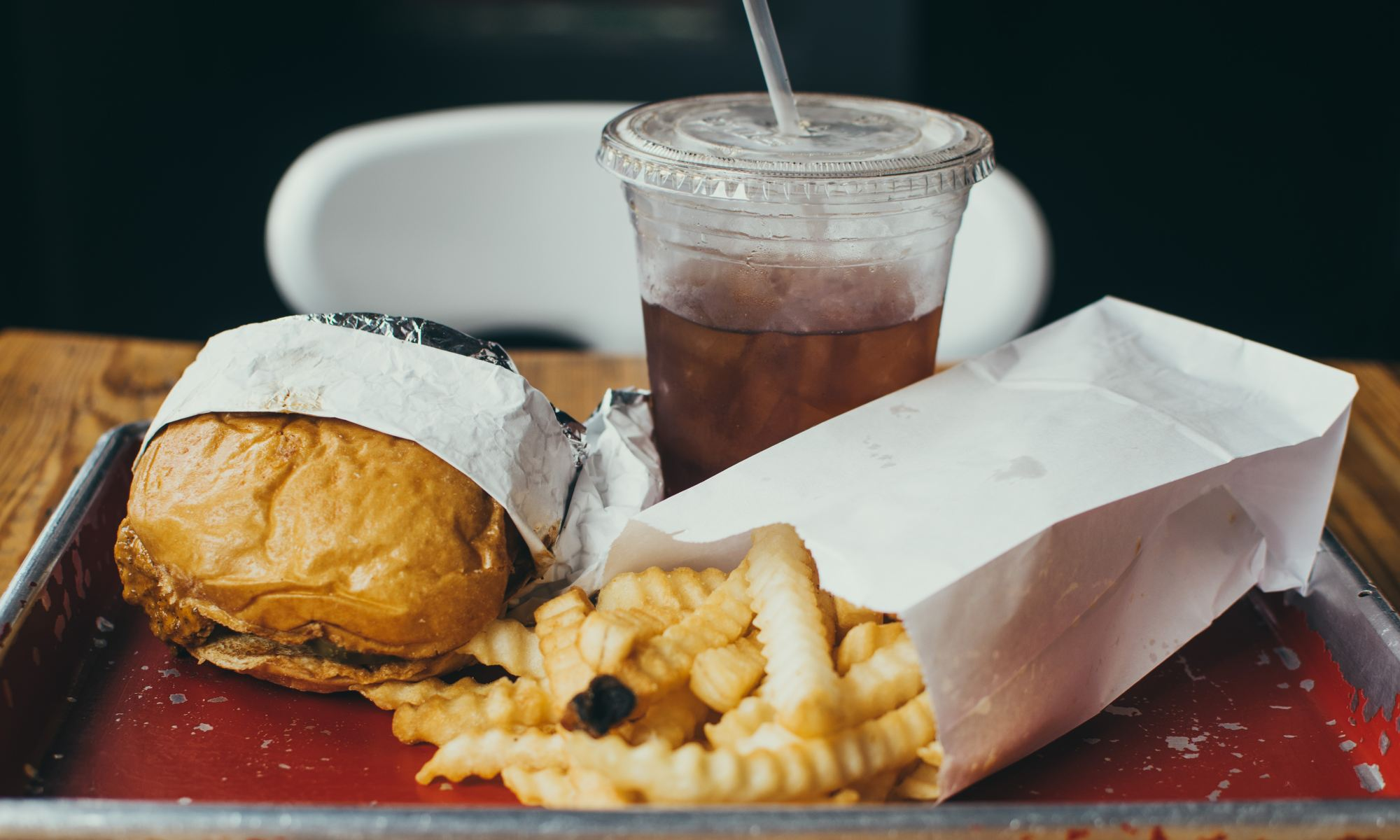 Addiction to burgers, fries and soda