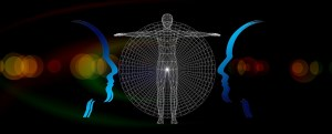 What is psychoanalysis: abstract picture of human body