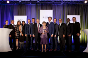2018 Bravo Legacy Award presented to Young Living Co-Founder and CEO Mary Young on behalf of her husband, Founder and Chairman of the Board D. Gary Young.