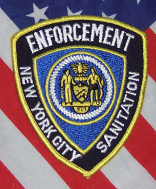 NYC Police Sanitation Enforcement