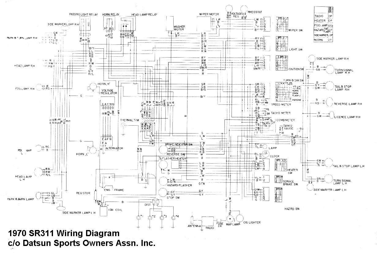 Datsun Sports Technical Data For Technical Information