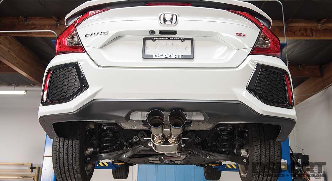 hks exhaust 2019 civic si exhaust