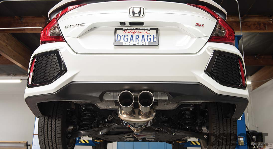 remark exhaust 2019 civic si exhaust