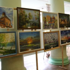 An exhibition of works by the students of the Faculty of Primary Education and Arts