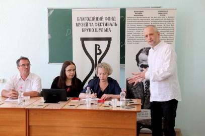 Зліва направо: Сергій Слєпухін, Жанета Налевайк, Віра Меньок, Павел Прухняк