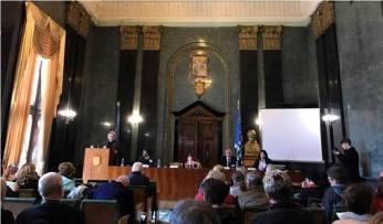 Пленарне засідання в мармуровій залі ратуші