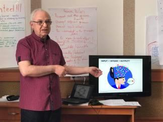 Лекція Олександра Шаленка, секретаря українcького відділення Міжнародної асоціації вчителів англійської мови як іноземної