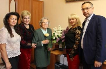 Дякуємо за багаторічну сумлінну працю почесному проректорові Уздиган І.М. – переселенці з Польщі за акцією «Вісла»