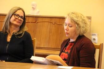 Читання під час презентації фрагментів українського перекладу книжки «Наречена Шульца»