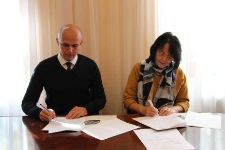 Під час підписання угоди