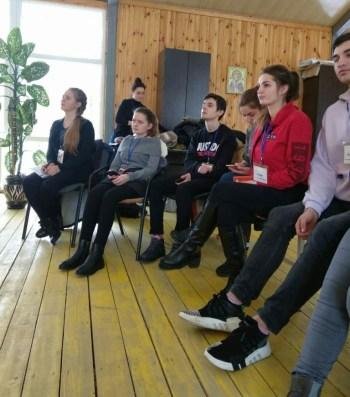 Студенти групи ЗЛ-43Б під час практики