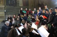 Богослужіння у супроводі народної хорової капели «Гаудеамус»