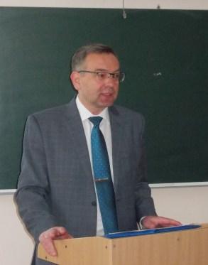 Проректор з наукової роботи Микола Пантюк