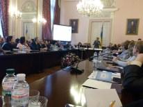 Вiтальне слово виголошує Лiлiя Гриневич, Мiнiстр освiти i науки України