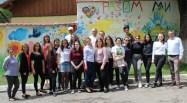 Інтеркультурна команда навчального проекту «Арт-педагогіка та арт-терапія в соціальній роботі з людьми з особливими потребами»