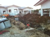 Cantiere costruzione Zagarolo - Lavori in corso