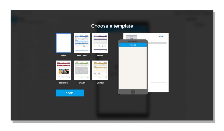 img - gocanvas app builder templates