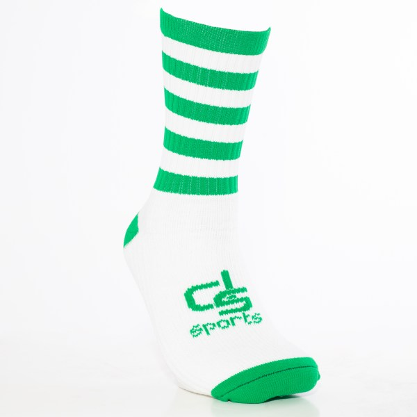 GAA Half Socks Green/White