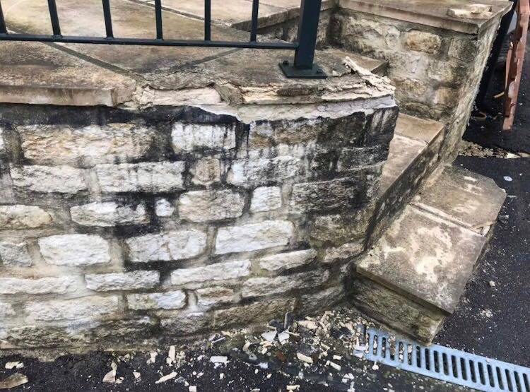 Frost resistant limestone frost damage cotswolds