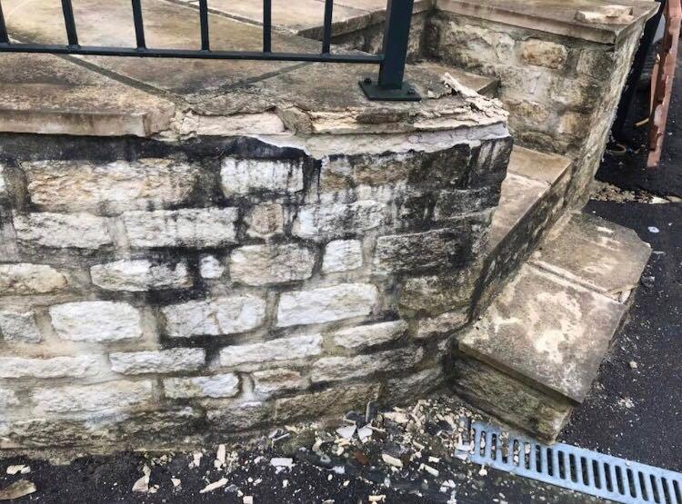 Frost resistant limestone frost damage cotswolds