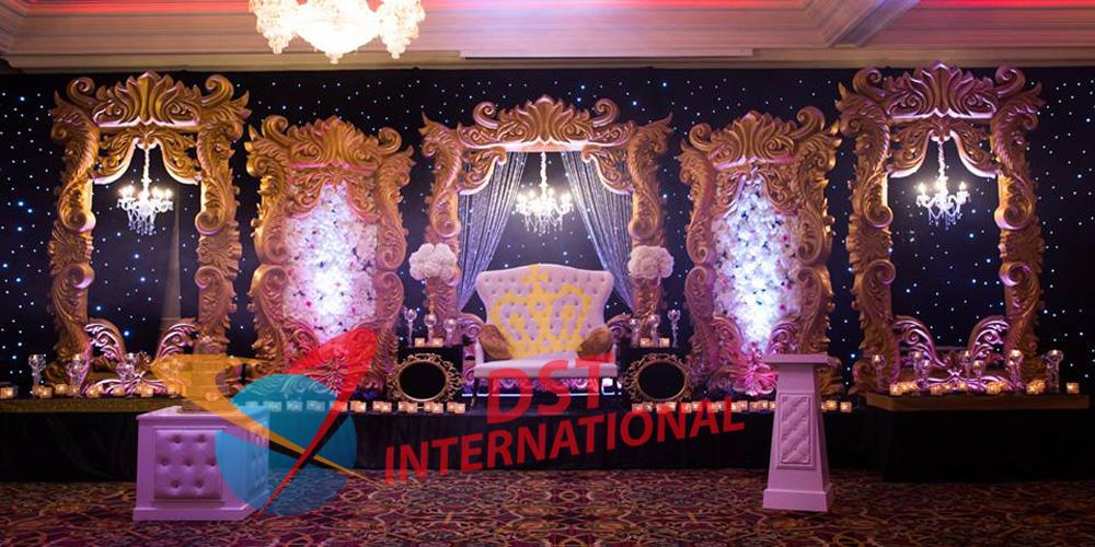 Elegant Wedding Stage Decoration Panels - DST International
