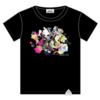 Tシャツ 各3,500円(税抜) © 2017 Nintendo © '76, 09' SANRIO ©'76, '79, '88, '89, '93, '96, '01, '18 SANRIO APPR. NO.S592929