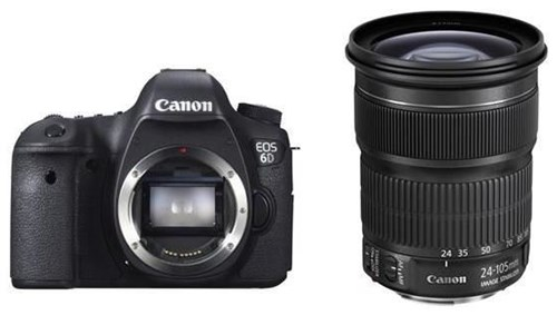 Canon EOS 6D EF 24-105 mm 1:3,5-5,6 IS STM Canon EOS Rebel T6i 24.2MP WiFi Enabled Digital SLR Camera + Canon EF-S 18-55mm IS STM + Canon EF-S 55-250mm IS STM + 2pc High Speed 32GB Memory Cards + UV Filter + Dedicated TTL Flash [x] Canon EOS Rebel T6i Bundle 90585604FC75D33D1D5D45A7B621C90F
