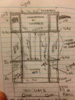 The master plan. PC: Jon Glueckert