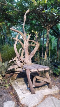 Awesome wood carved chair