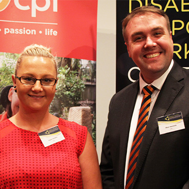 Kayla and CPL CEO Rhys Kennedy