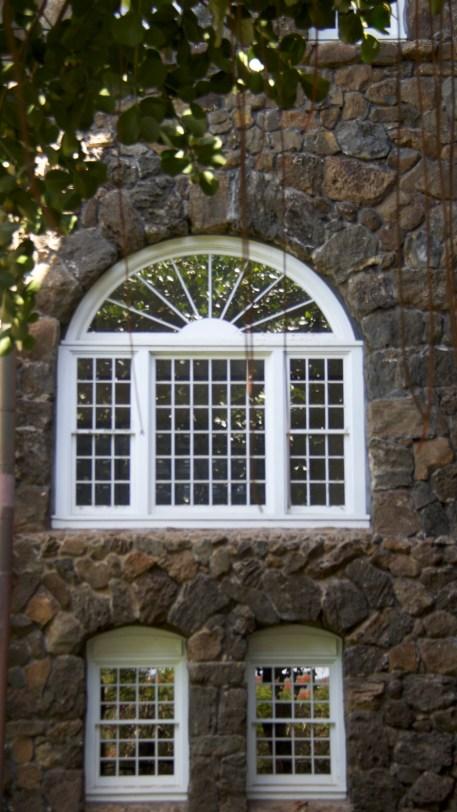 Windows reflect natures beauty.