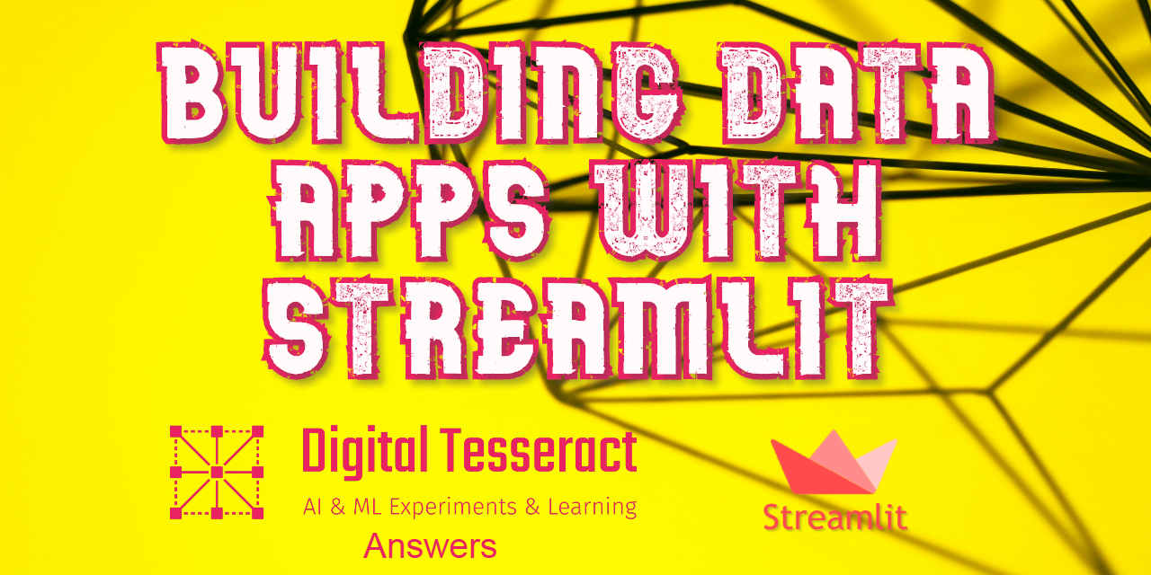 Building Data Apps with Streamlit!