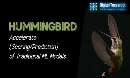 Compile ML Pipelines Into Tensor Computations using HUMMINGBIRD!