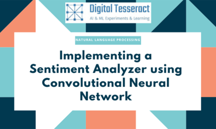Sentiment analyzer using Convolutional Neural Network