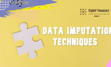 Data Imputation Techniques – An Introduction