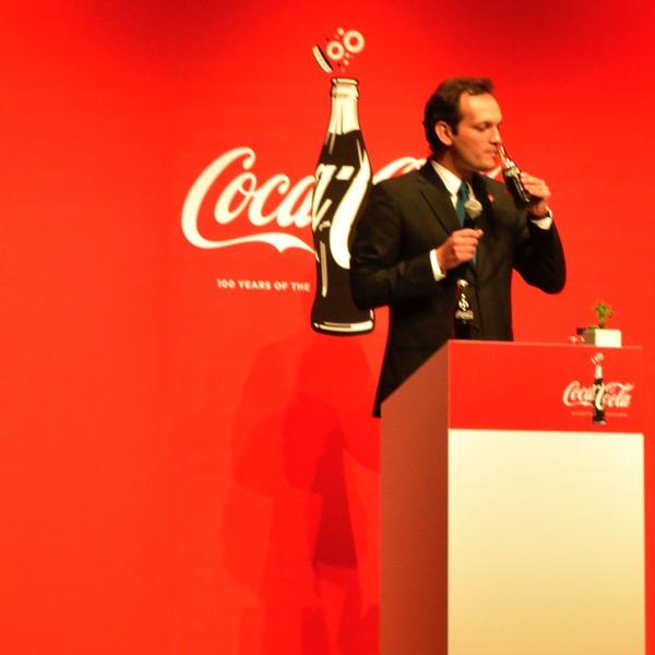 2015「コカ・コーラ」ブランド戦略発表会