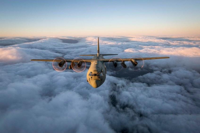 Royal Air Force C130J Hercules