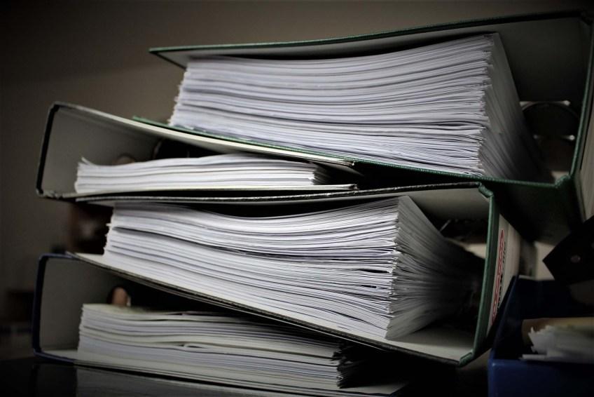 Binders documents