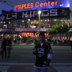 Staples Center before a Kings game