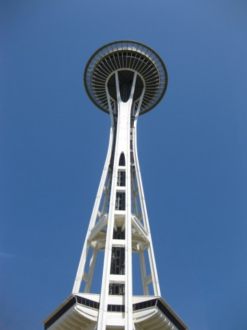 The Space Needle Seattle sports teams travel guide