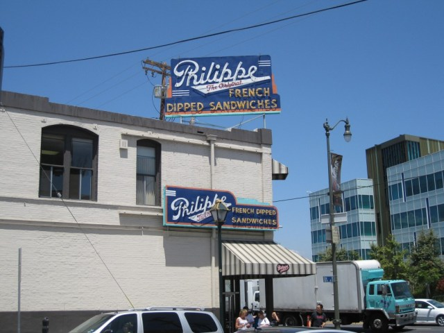 Phillippe the Original great places to eat before a Dodgers game